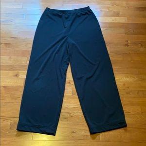 High Waisted Ankle Length Flowy Pants